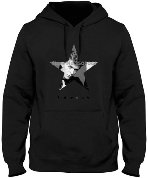 Black Star Bowie Tribute Femme Hipster Marke Mode Harajuku Kawaii Punk Tops Pullover Sweatshirts
