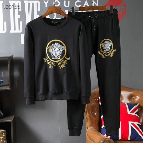 Mens Designer tracksuit Chinese Style Embroidered Slim Thin High-end Wrinkle Mens tracksuit