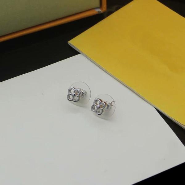 White gold/Earrings