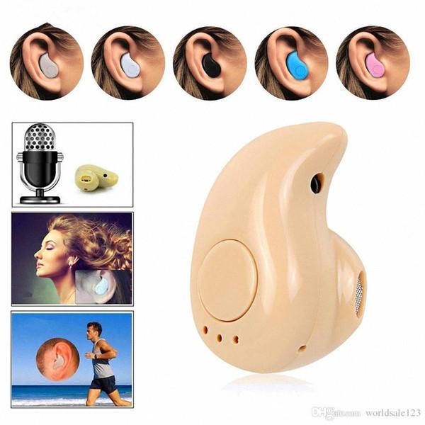 Mini s530 drahtlose bluetooth kopfhörer für iphone samsung hand kostenlos mini bluetooth kopfhörer kopfhörer sport ohrhörer telefon headset auto bt