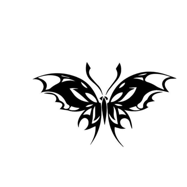 Tribal Art Butterfly Car Window Vinyl Decal Sticker Handsome And Cool Stickers