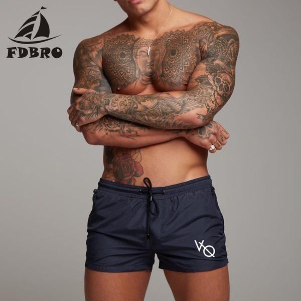 FDBRO 2019 Yeni Erkekler Yüzmek mayo Seksi Mayo Mayo Erkekler Yüzme Şort Erkekler Külot Plaj Şort Spor Takım Elbise Sörf Tahtası Şort