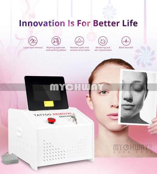 New Listing & Hot Light Therapy Tattoo Freckles Removal Equipment 1064nm/532nm/1320nm Eyebrow Lipline Removal Machine