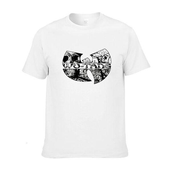 WU TANG hip hop kaykay streetwear Baskılı Mens Erkekler T Gömlek Camisetas Masculinas 2014 Manga Curta Camisa Masculina Tshirt
