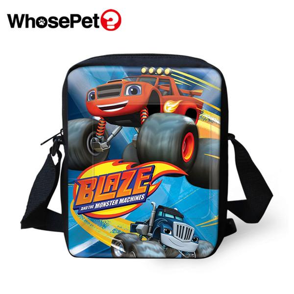 WHOSEPET Machine Teenager Cross Body Messenger Bags Jungen Umhängetaschen Mädchen Schule Womens Postbags