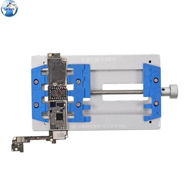 MJ K22 Mobile Phone Motherboard Fixing Tool For iPhone Samsung Logic Board IC Chip BGA Repair Holder Universal Bearing Fixture
