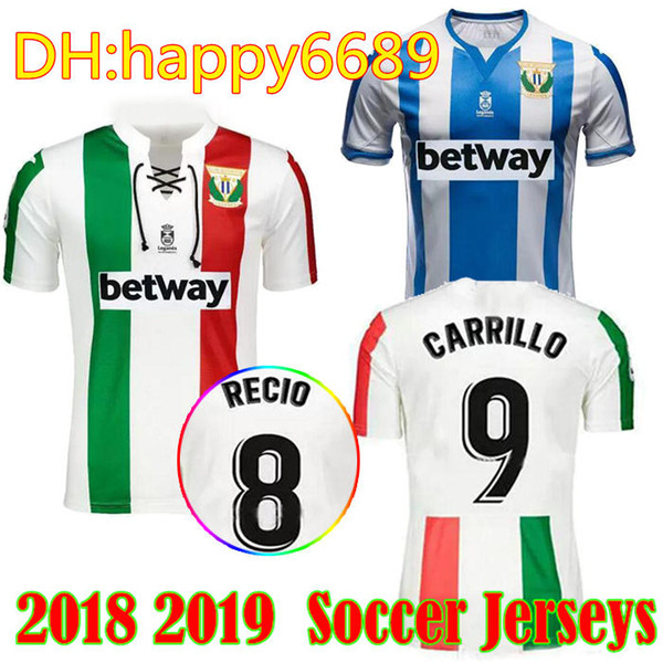 2019 2018 2019 Leganes Soccer Jersey 18 19 Away Jersey Classic 90th  Anniversary CARRILLO SZYMANOWSKI J SILVA Football Shirt From Happy6689,  $17 26  