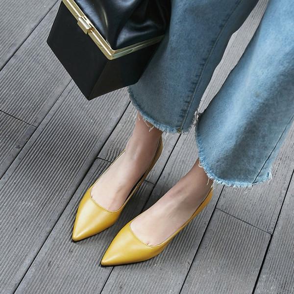 Venta caliente-Tamaño grande 11 12 13 14 15 16 17 zapatos de tacón alto para mujer zapatos de mujer bombas de boca baja Zapatos sueltos de tacón alto de tacón fino