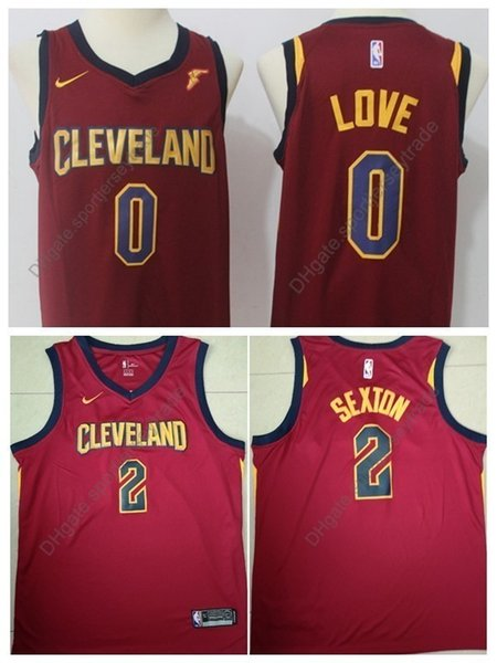 c48c92ec35a 2019 Earned Men 2 Cleveland Collin Sexton Kevin Love Cavaliers Edition Basketball  Jersey City Kevin Love Edition Top Quality Stitched S-XXXL