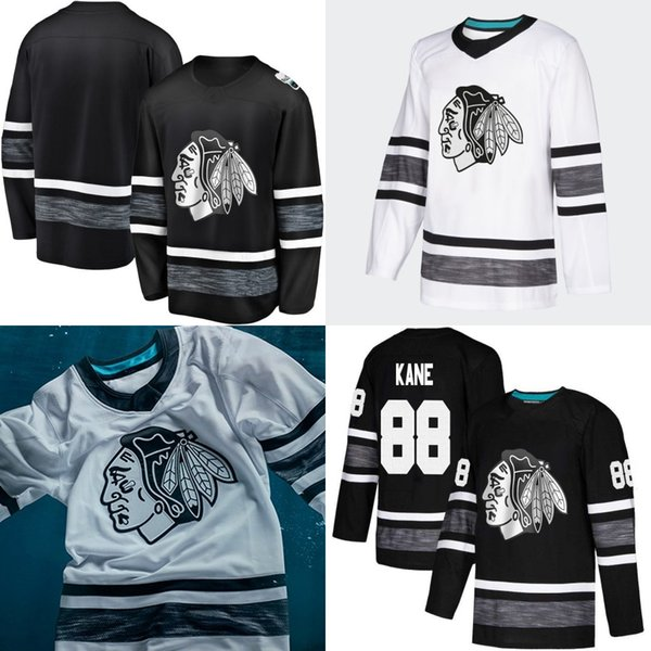 best sneakers 2262a 15a4f 2019 2019 All Star Game Jersey Chicago Blackhawks 88 Patrick ...