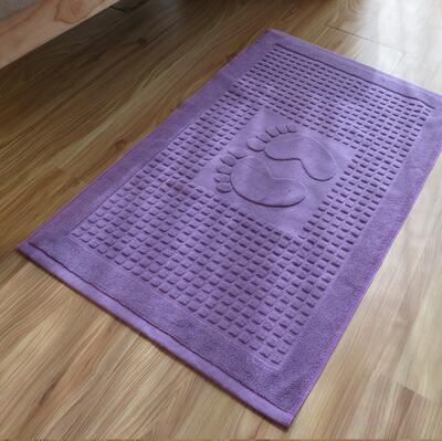 purple foot