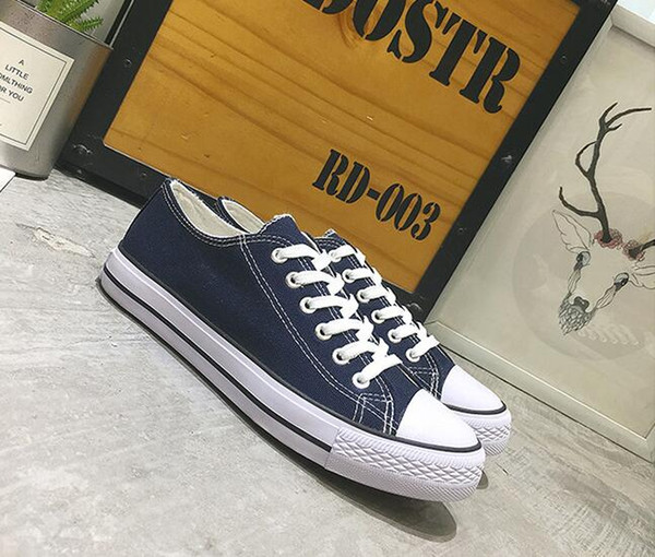 Canvas Shoes sneakers Women Men Low Style fashion Classic designer Shoes Casual Canvas Shoe New Factory Promotional Price