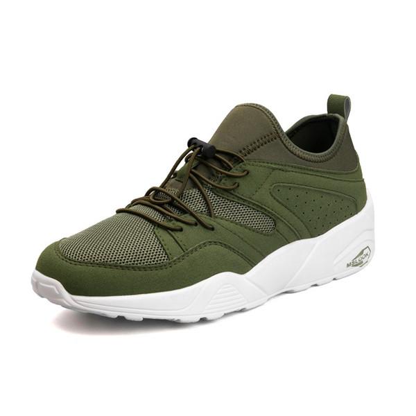 Küçük beyaz Koreli erkek örgü rahat ayakkabılar vahşi yaz eğilim ayakkabı 2018 erkek ayakkabıları