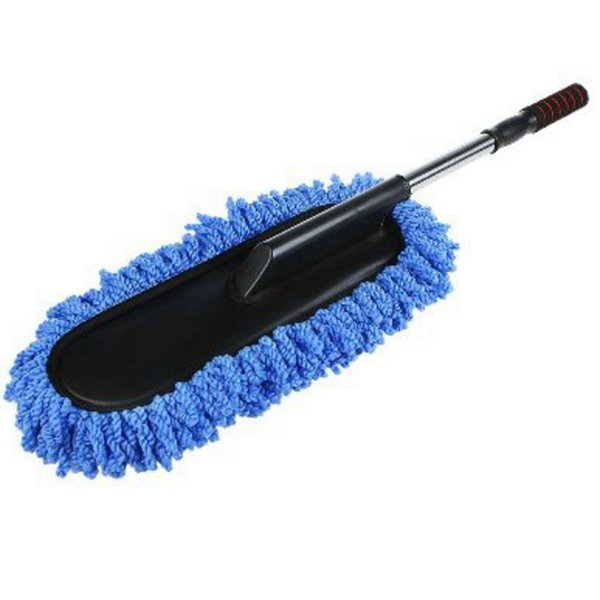 Car Wash Cleaning Brush Duster Dust Wax Mop Microfiber Telescoping Dusting Tool With Adjustable Long Handle
