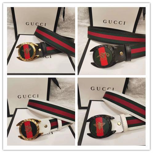 2017 top quality cow genuine fashion belt luxury jaguar Designer men's Leather belts for men Luxo strap cinto masculino ceinture Hombre