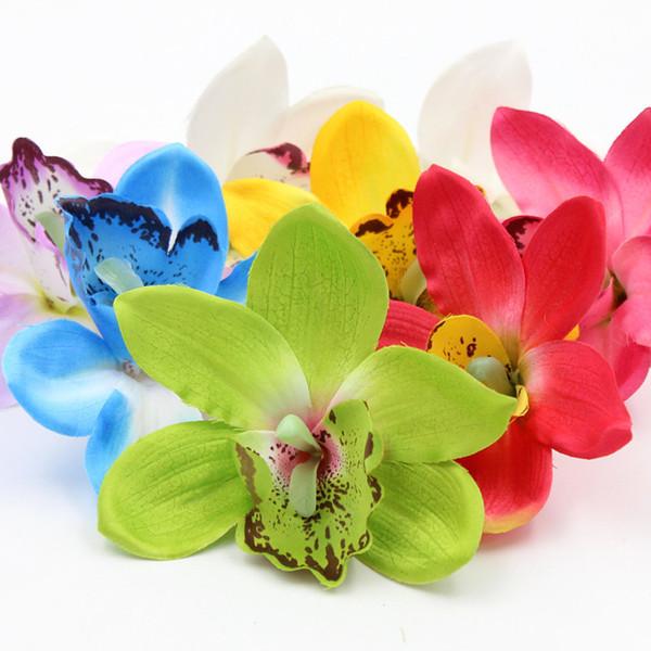1pcs/lot Artificial Silk Flower Rose Wreath Carnation Tulip Lily flower Clothing Wedding hat DIY decoration flower D19011101