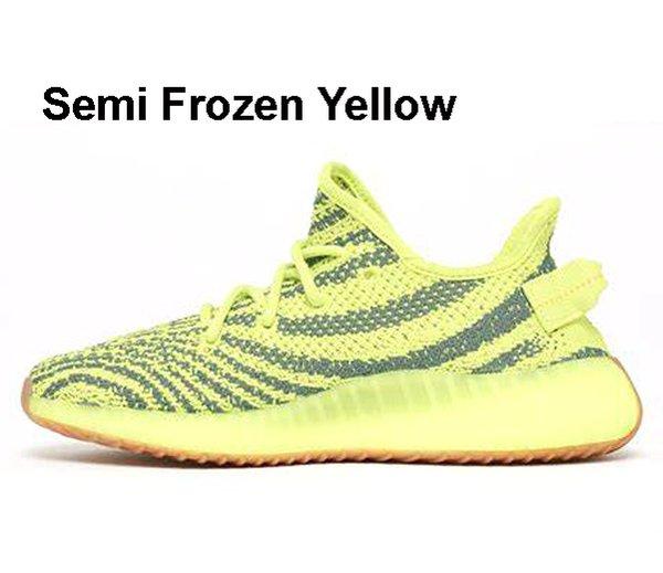 Halbgefrorenes Gelb