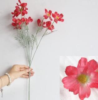 Fleur de chrysanthème en soie n ° 6
