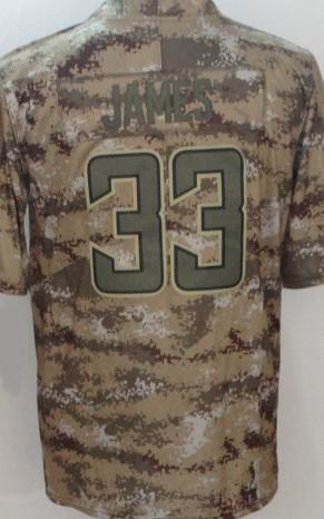 Los Angeles # 33 Derwin James-Salute Camo