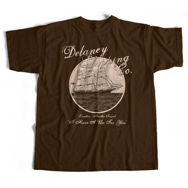 Tabu T-shirt'den esinlenildi Delaney Ticaret Şirketi Eski Skool Hooligans TV Orig. ! Erkek Kadın Unisex Moda tişört Ücretsiz Kargo