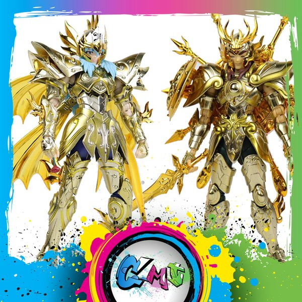 CMT CS Model Saint Seiya EX God Pisces Aphrodite And God Libra Dohko God Cloth SOG Action Figure Myth Metel Armor Toys Figure
