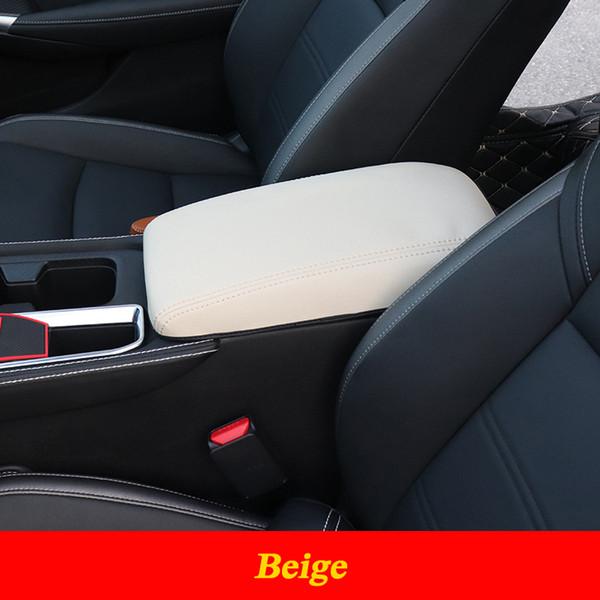 Beige Car Center Console Apoyabrazos Cubierta Pad Coj/ín Se adapta a E46 1999-2004 EBTOOLS Coj/ín Reposabrazos Tapa