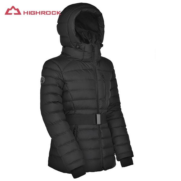 Warmer Von Weiblichen Ski Wandern Großhandel Kapuze Mäntel Frauen Outdoor Winterjacke Unten Daunenjacken Jacke 700FP Thermische Highrock Frauen Mit qzpUMVGS