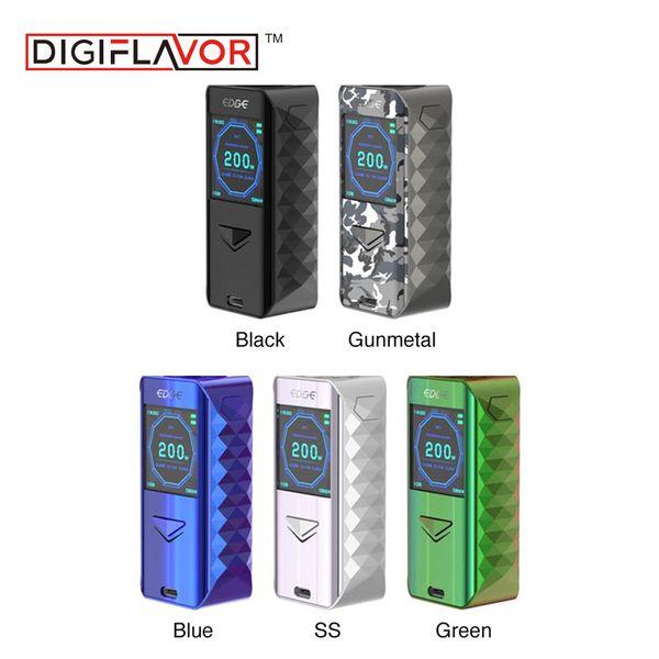 New Original Digiflavor Edge Box MOD Vape with Advanced AS Chipset Electronic Cigarette Vape Fast Wireless Charging Vaporizer