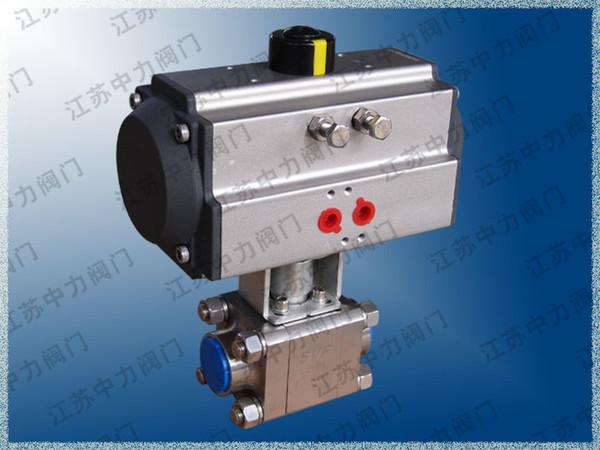 Q661N dreiteiliger Hochdruckkugelhahn