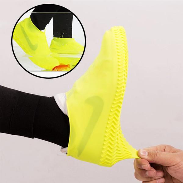 Su geçirmez Çizme ve Su Geçirmez Ayakkabı Kapağı Kullanımlık Kaymaz Yağmur Kar Gal Galoş Erkekler için, Erkekler, Kadınlar, Çocuklar Yağmur Çizmeleri