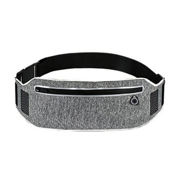 Professional Running Waist Pouch Belt Sport Belt Mobile Phone Men Women With Hidden Pouch Gym Bags Running Waist Pack #48461