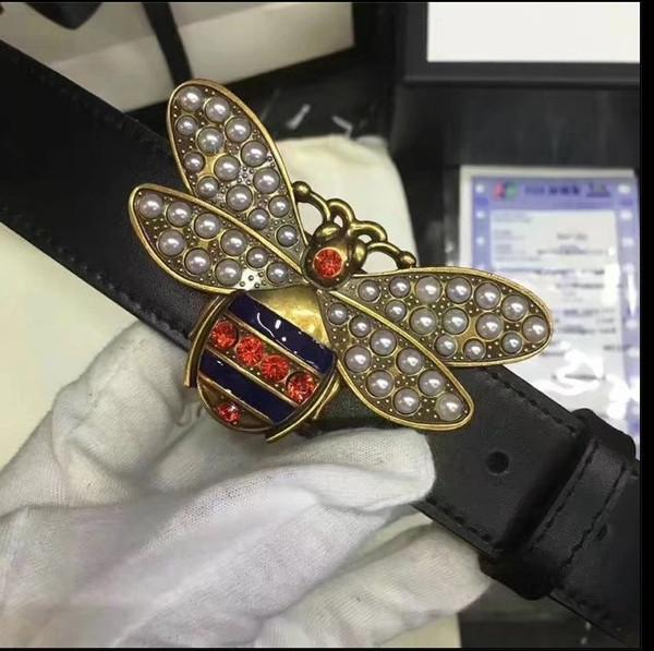 New fashion brands belt men women brands Trademark design belts gold buckles party jeans Waist belts free shipping