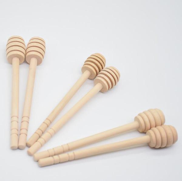 Деревянная медовая мешалка 15 см с длинной ручкой Деревянная палочка для меда Ложка для смешивания Медовые инструменты OOA7109