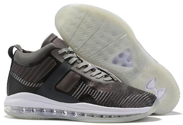 Alta calidad 2019 zapatos más nuevos Mens James Icono QS baloncesto por un icono barato John Elliott Caqui Negro Blanco Azul tamaño de la zapatilla de deporte 40-46 Moda