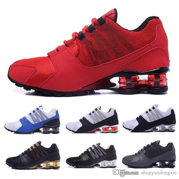 Acquista Nike Tn Plus Shox Scarpe Da Donna Shox Spedizione Gratuita Rosa Red Avenue Consegna Attuale NZ R4 TLX RZ OZ Gravity Ragazze Shox Sneakers