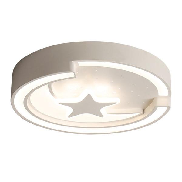 Großhandel Creative Mond Stern Kinderzimmer Deckenleuchte Acryl Baby Raum  Decken Lampen LED Schlafzimmer Deckenleuchten Von Oovov, $154.38 Auf ...