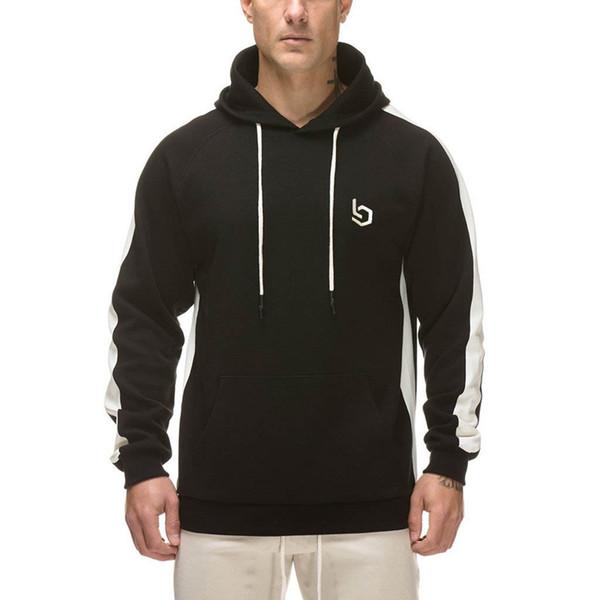 Men Fashions 2019 Long Sleeve T Shirt Men Pullover Tops & Tees Bodybuilding Sweatshirt Streetwear Male Tshirt Causal Clothing