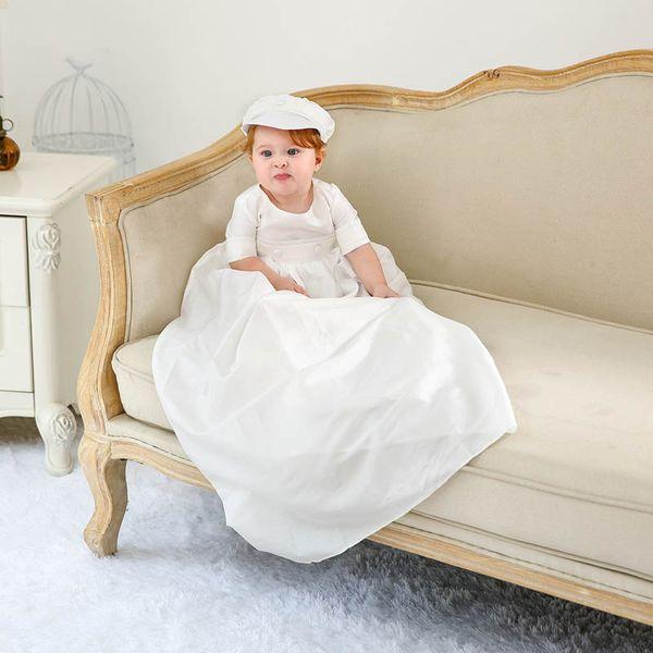 Großhandel Baby Taufe Kleid Taufe Kleid Neugeborenes Baby Kleidung Baby Säugling Junge Designer Kleidung Einzelhandel A8065 Von Hellochildhood
