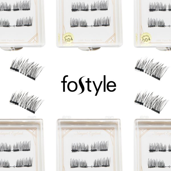 Fostyle Brand for Woman Makeup 3D Magnet Magnetic Lashes Mink False Eyelash Natural Lashes Extension Magnetic Eyelashes Tools