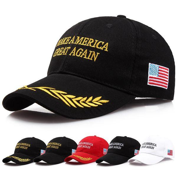 Сделай Америку снова великой Дональд Трамп Хэт Республиканские регулируемые кепки для вышивания Америка Кепки для голосования Бейсболка 19 дизайнов