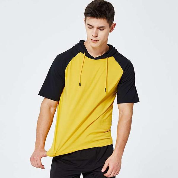 Simple creative design men Short sleeve t shirts men t shirts running Fitness Tops plus size Drop Shipping