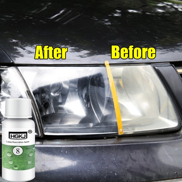 Auto Lamp Assembly Cover Cleaner Headlamp Cleaning 20ML 50ML Window Car Accessories Repair Headlight Agent Bright Transformation