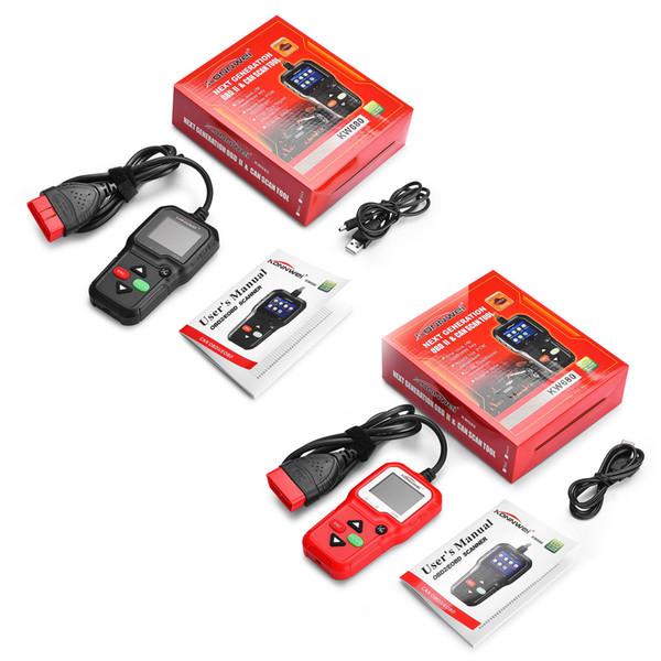 KONNWEI KW680 Car Diagnostic Tool Full OBD2 Function Multi-language OBD 2 Autoscanner Reader Automotive Scanner PK AD410 ML519