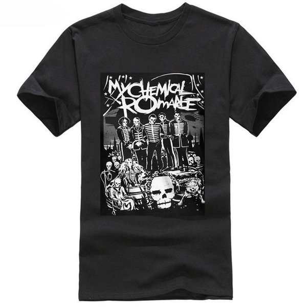 My Chemical Romance 'Dead PARADE' mens Fitted T-Shirt - Neuf et officiel Classic Quality High t-shirt