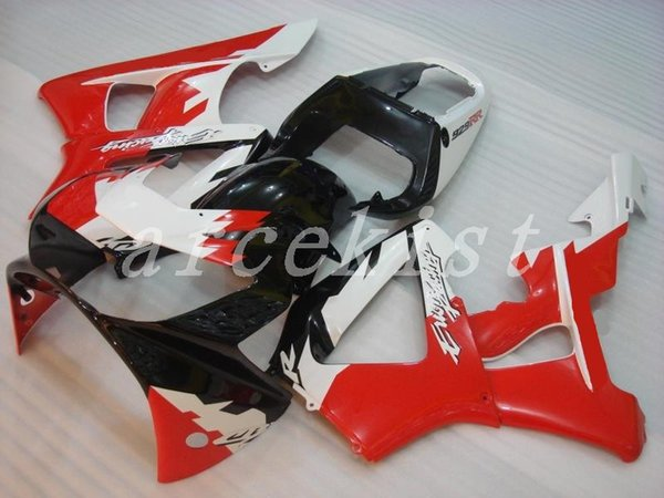 New Injection Mold ABS motorcycle bike Fairings Kits Fit For HONDA CBR929RR 00 01 2000 2001 body set custom Fairing black white red