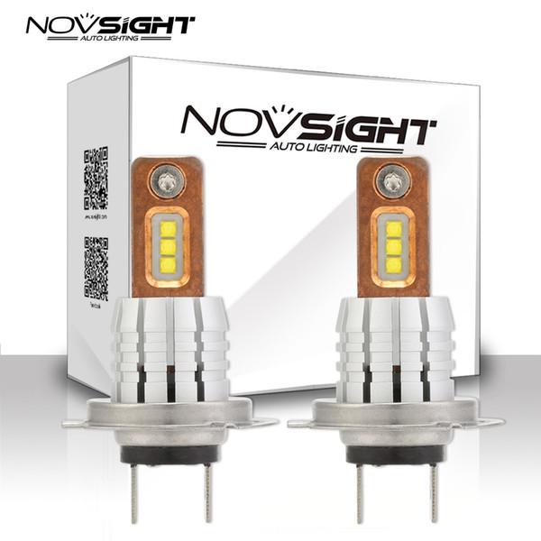 Novsight H11 H8 LED h7 h1 Fog Light Bulbs 9005 HB3 HB4 9006 Car styling Running Lights Auto Driving Lamp 12V 24V 6000K White