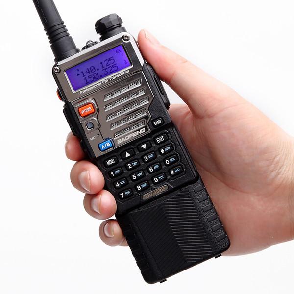 BaoFeng UV-5RE 8W walkie talkie10km long range high power Handheld 3800mah Battery cb HAM upgrade of BF- UV5RE portable Radio