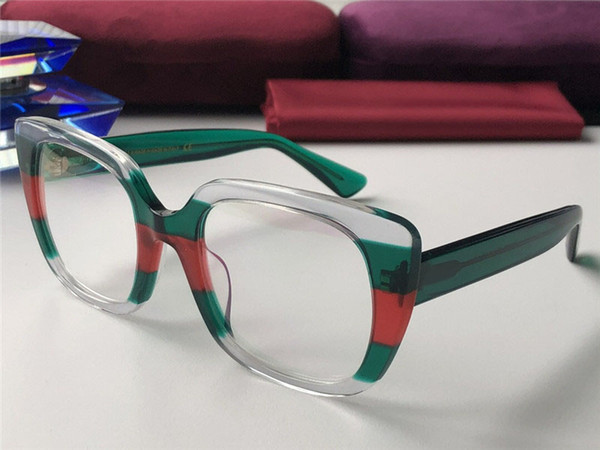 top popular New fashion designer Optical prescription glasses 0180 cat eye frame popular style top quality selling HD clear lens 2019