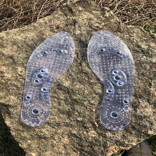 10 пара Магнитная терапия для похудения Стельки для потери веса Массаж ног Health Care Обувь Мат Pad акупунктуры массирования Стелька