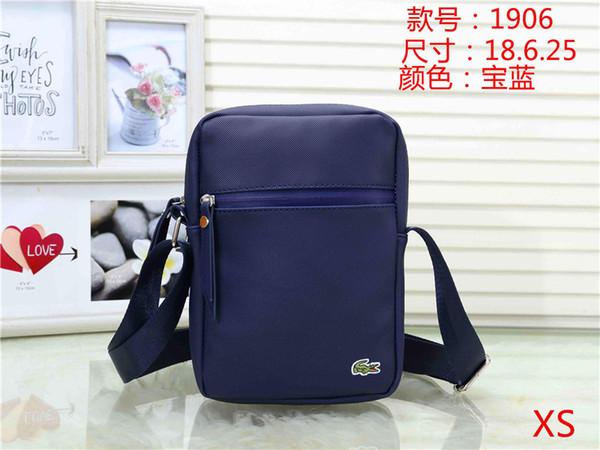 Tasarımcı omuz çantası 2019 yeni lüks kanvas omuz çantası erkek cüzdan çanta moda çanta omuz cüzdan